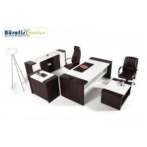 Bontio Ofis Makam Takımı Dolap Dahil